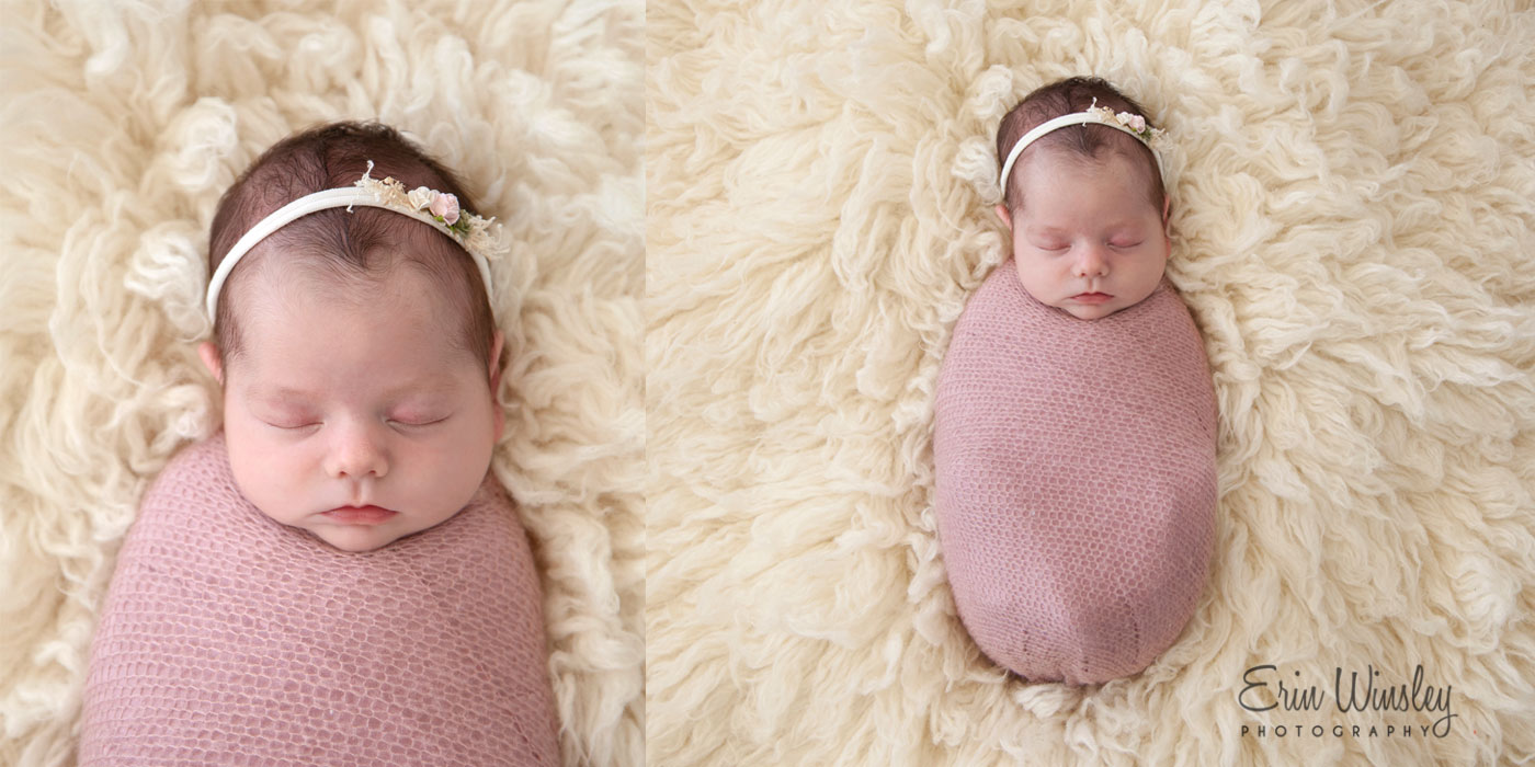 Example of photo from affordable newborn photography mini session